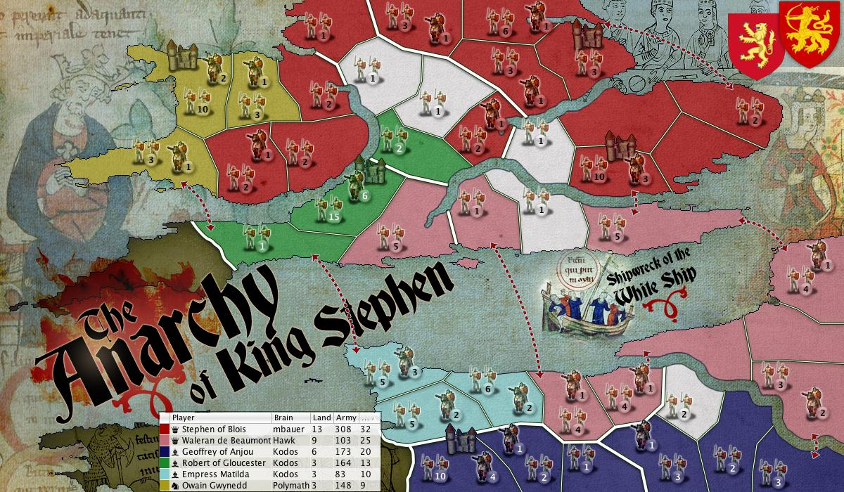 The Anarchy of King Stephen