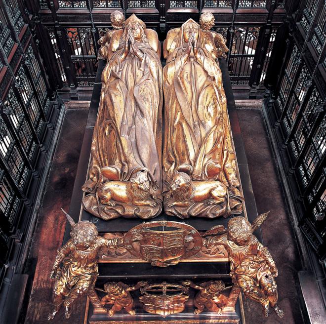 Pietro-Torrigiano-Tomb-of-King-Henry-VII-and-Queen-Elizabeth-of-York-1512-18-gilt.ppm